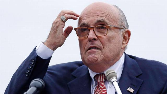 Rudy Giuliani's relationship with arrested men is subject of criminal investigation