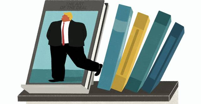 Art of the Steal: How Trump boosted his book sales and gamed the New York Times best-seller list.