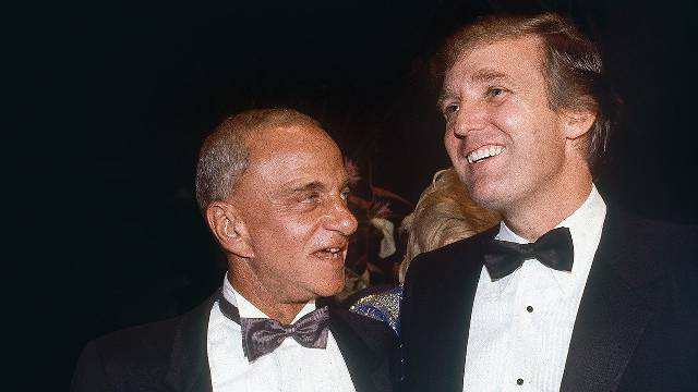 How Donald Trump and Roy Cohn's Ruthless Symbiosis Changed America