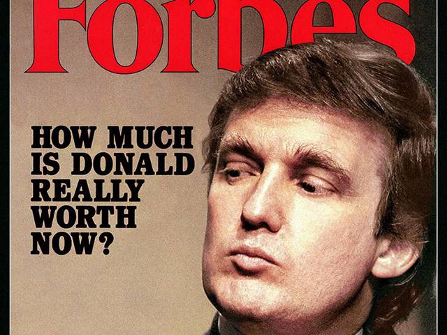 Why We Took Trump Off The Forbes 400 During His Decade of Tax Losses
