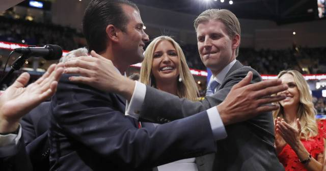 Trump's children take in millions overseas as president slams Biden's son