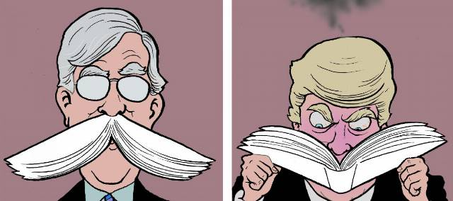 5 brutally funny cartoons about Bolton's bombshell book