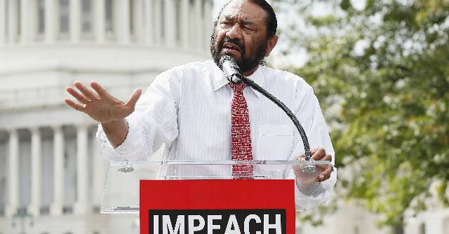 The First Democrat To Call For Impeachment Says If The Senate Won't Remove Trump From Office, Democrats Can Try Again