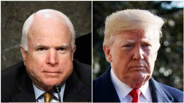 Trump Again Attacks McCain, Months After His Death, for Role in Russia Probe