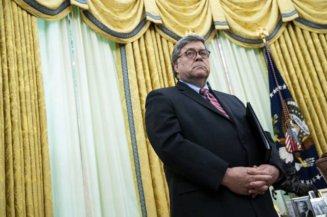 AG Barr bribed, threatened, and lied his way to ousting New York's top prosecutor, testimony reveals