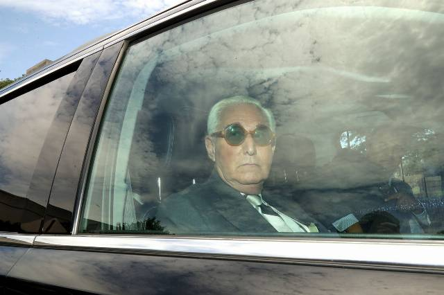 Robert Mueller: Roger Stone remains a convicted felon, and rightly so