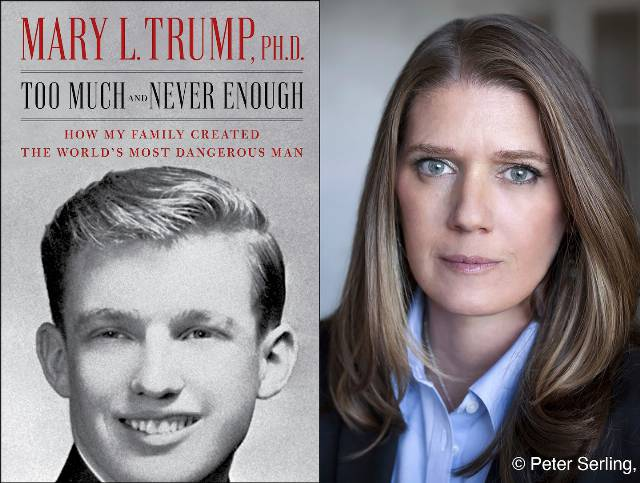 Mary Trump says she heard her uncle Donald use the 'n-word'