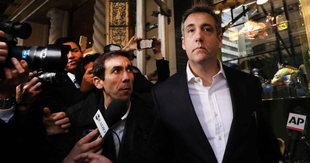 Justice Department Imprisoned Cohen for Flipping on Trump
