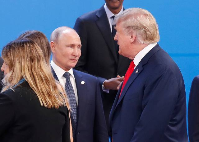 Opinion | In a new interview, Trump again shows that he's Putin's puppet