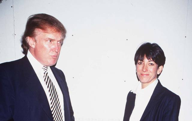Before President Trump wished Ghislaine Maxwell 'well,' they had mingled for years in the same gilded circles
