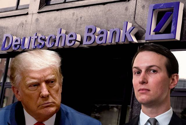 Deutsche Bank launches internal probe into personal banker of Donald Trump and Jared Kushner