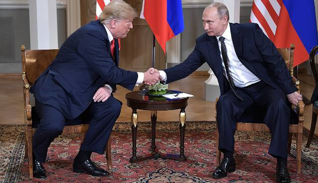 How Trump is once again colluding with Russia