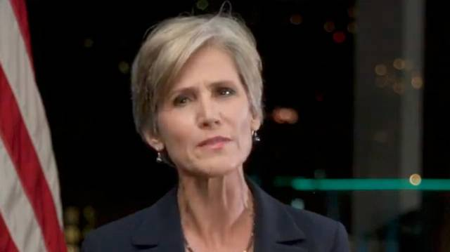 Sally Yates: Trump Would Rather 'Fawn Over A Dictator' Than Defend The Country