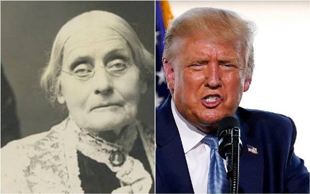 Susan B. Anthony Museum Rejects Trump Pardon, Tells How He Can Really Honor Her