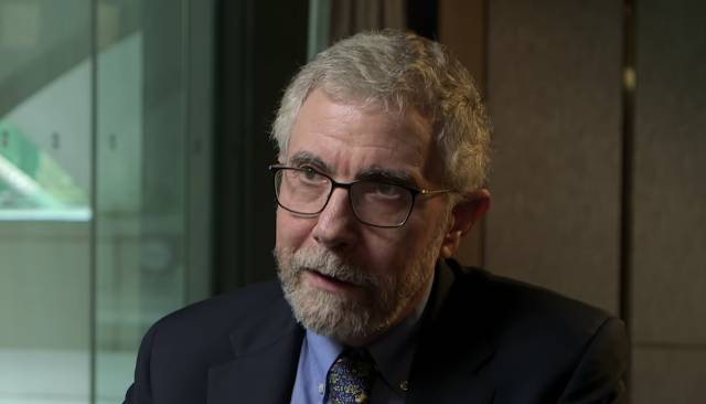 Paul Krugman argues Trump has only one way to win — and it involves QAnon
