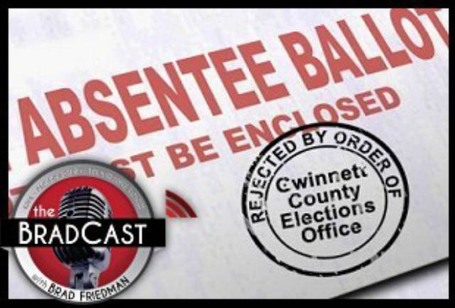 Mail-in Ballots from Black Voters Rejected Disproportionately in GA's Primary: 'BradCast' 8/26/2020
