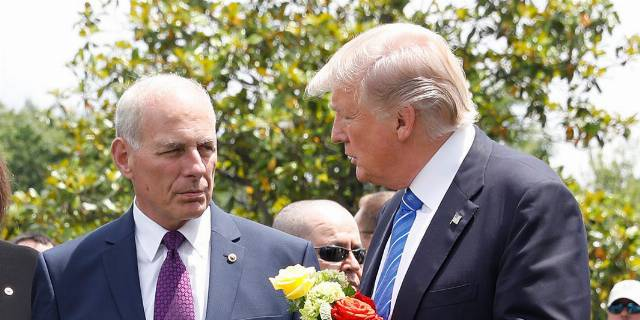 Trump questioned Kelly's son's sacrifice on Memorial Day grave visit: report