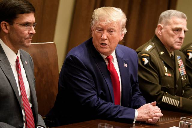 Trump endangers our security with COVID carelessness: Joint Chiefs now quarantining