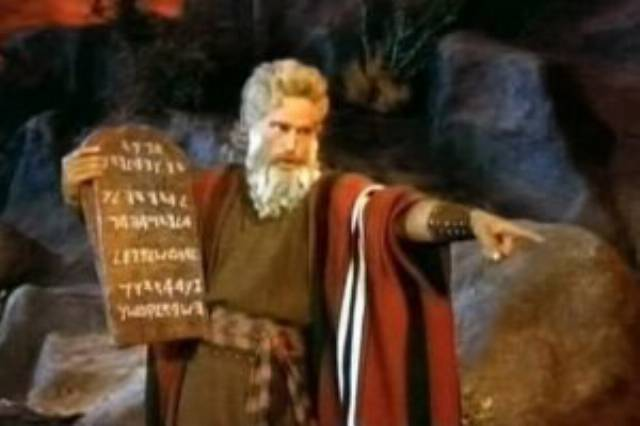 Donald Trump and the 10 Commandments
