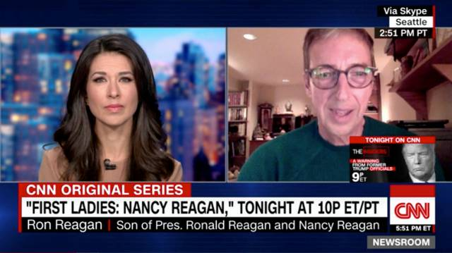 Ron Reagan Blasts 'Grifter' Trumps, Says His Dad Would Be 'Horrified' By The GOP