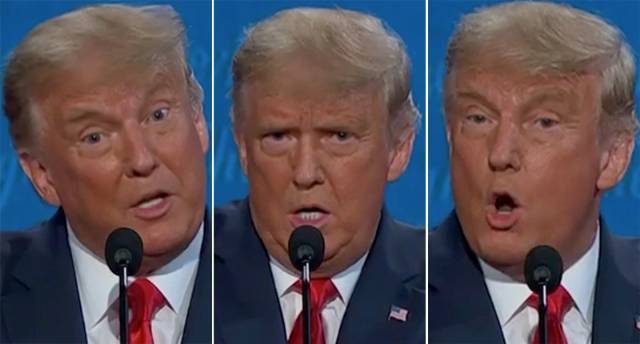 'Fantasies are not facts': Trump ridiculed for his meltdowns at final presidential debate
