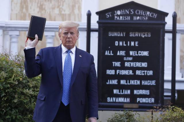 'Not Our Faith': Bipartisan Christian Group Take On Trump In New Super PAC