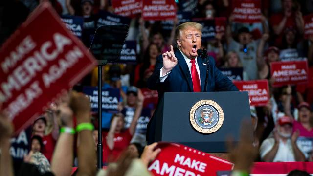 Researchers Estimate Trump Rallies Led To 30,000 Coronavirus Cases And 700 Deaths
