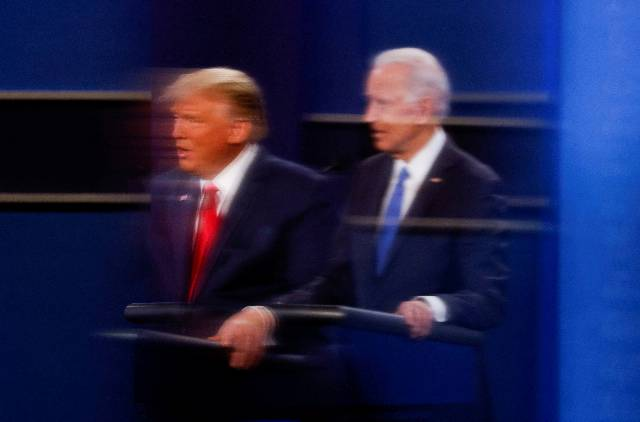 Trump Falsely Claims Victory With Votes Uncounted, Rival Biden Confident