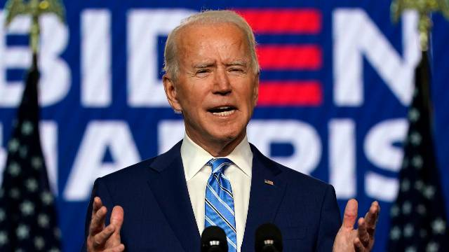 Biden Says 'It's Clear' He's Winning Enough States To Emerge Victorious In Election