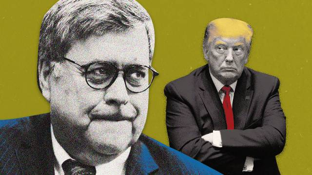 Trump Whines: Why Isn't Barr Coming to Save Me?