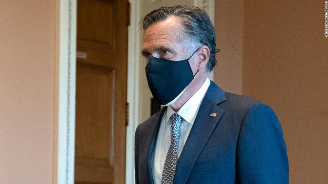 Mitt Romney calls for nation to 'get behind' Joe Biden and says he has seen no evidence of voter fraud