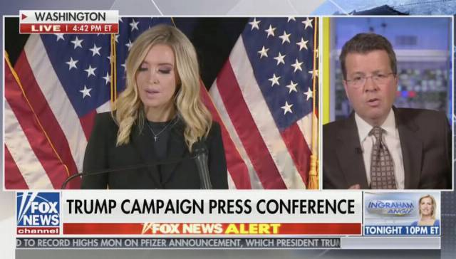 Fox News' Neil Cavuto Cuts Trump Campaign Press Conference