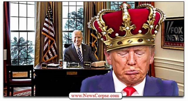 The Hysterical MADNESS of Deposed King Trump's 'Rigged Election' Whining
