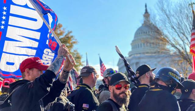 'Million MAGA March' Draws Thousands in Gathering of Pro-Trump Conspiracy Theorists