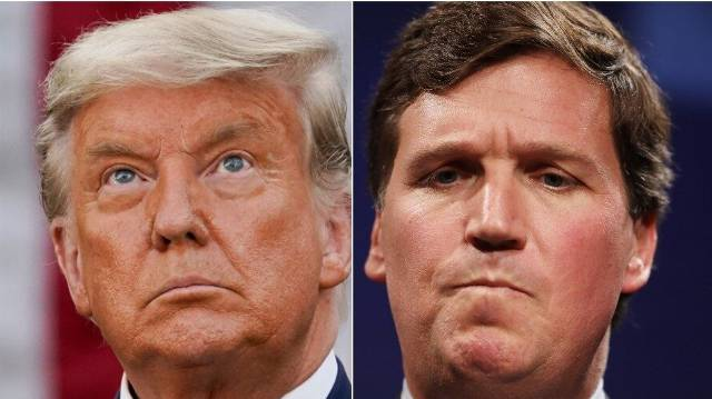 Trump Posts News So Fake That Tucker Carlson Had To Apologize For It