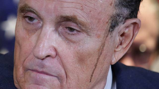 Rudy Giuliani Falsely Claims Georgia Election Is Proven Fraud In All-Caps Tweet
