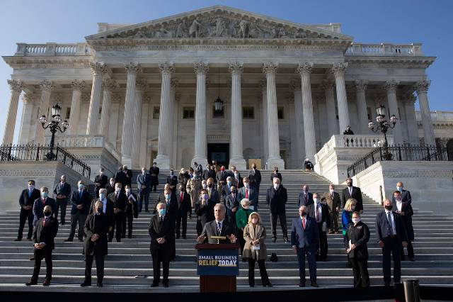 These are the Capitol Hill Republicans more interested in placating Trump than protecting democracy